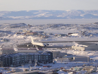Airbus A380 At Iqaluit