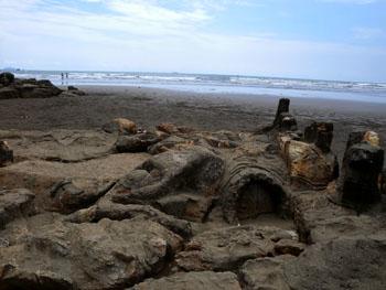 Air Manis Beach Indonesia