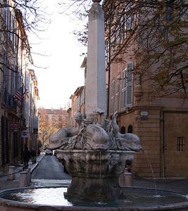 Aix-en-Provence Fontaine