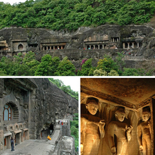 Ajanta Caves 3 In One