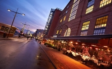 Aker Brygge Area Main Street Near Oslo Harbour