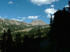 View Of Alaska Basin Tetons