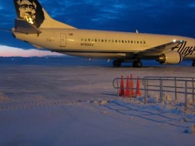Alaska Airlinesin Barrow 1 2 0 7
