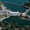 Albeni Falls Dam On Pend Oreille River
