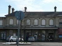 Aldershot la estación de tren