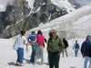 Aletsch Glacier Next To Jungfrau Mountain