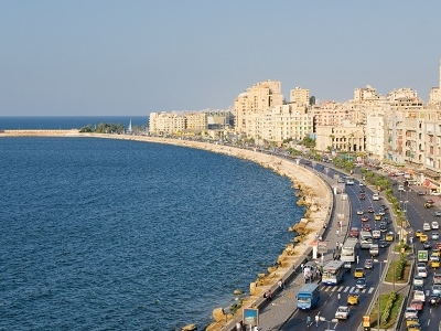 Alexandria Harbor - Egypt
