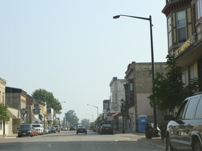 Algoma Wisconsin Downtown