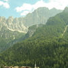 Alleghe And Surrounding Mountains