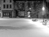 Alnwick Marketplace    Snow    Night