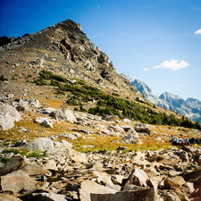 Alongside Paintbrush & Cascade Loop Trail- Grand Tetons - Wyoming - USA