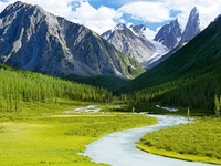 Golden Mountains Of Altai