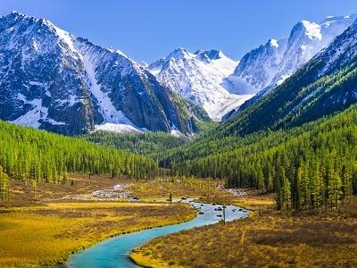 Altai Mountains - Russia-China-Mongolia Border