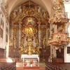 Altar And Pulpit, St. Mary's Church, Steyr, Austria