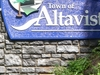 Altavista Welcome Sign