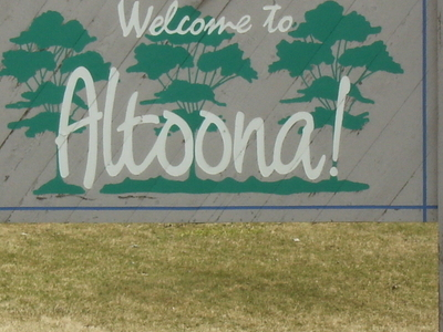 Altoona Welcome Sign