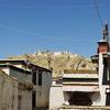 Altstadt Lhatse Mit Ruine Des Dzong