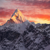 Ama Dablam Peak In Nepal