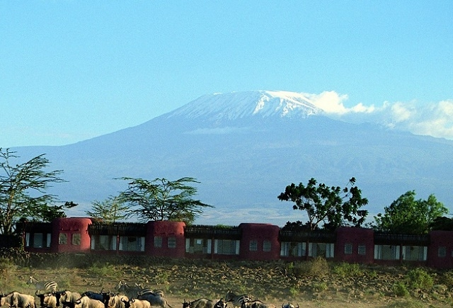 Luxury Amboseli Serena Safari Lodge Flying Package Photos