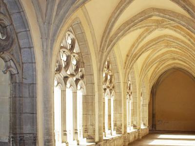 Cloister Of Ambronay Abbey
