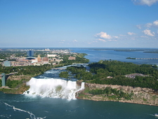 American And Bridal Falls