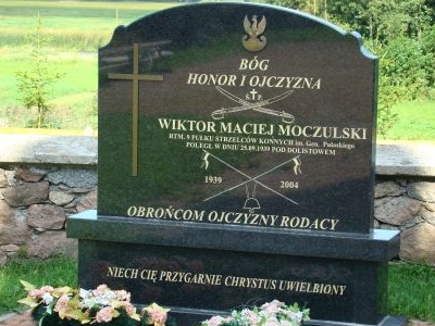 A Monument Of Captain Of Cavalry – Moczulski