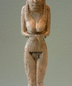 Ancient Badarian Mortuary Figurine