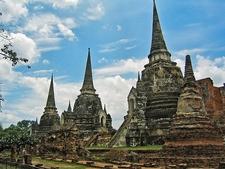 Ancient Thai Capital In Ayutthaya