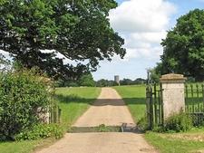Andrews Arboretum Entrance