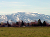 An Image Taken From Heyburn Idaho Looking South Towards The Mou