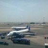 An IndiGo Airbus Loading