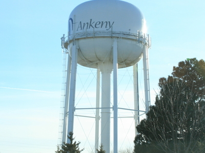 Ankeny  Iowa  Watertower