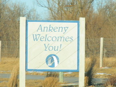 Ankeny  Iowa  Welcome  Sign