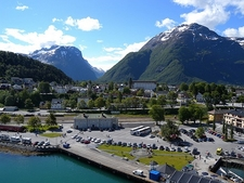 Ankunft In Andalsnes - Berg Norway