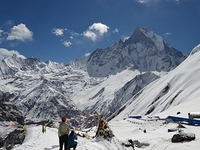 South Annapurna Glacier