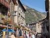 An Ordino Street And Casamanya Mountain