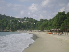 Another View Of Koukounaries Beach