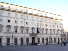 Another View Of Palazzo Chigi