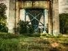 Anthony Wayne Bridge From Below - Toledo OH
