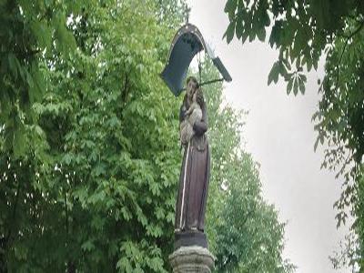 Antoniusbrunnen Fountain Imst Austria