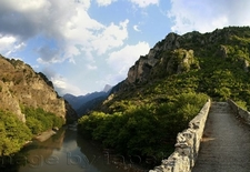 Aoos River & Konitsa Bridge