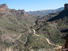 Apache Trail At Fish Creek Hill