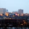 Appleton Skyline From The South Bank Of The Fox River.