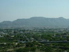 Aravalli Mountains With Ajmer