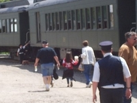 Arcade y Attica Ferrocarril