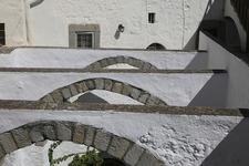 Arches Inside Monastery Of St. John