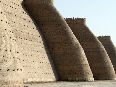 Wall Of The Bukhara Fortress, The Ark