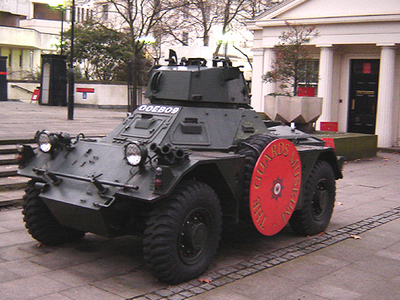 Armoured Car At The Guards Museum