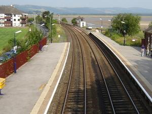 Arnside la estación de tren