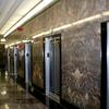 Art Deco Elevators In The Lobby